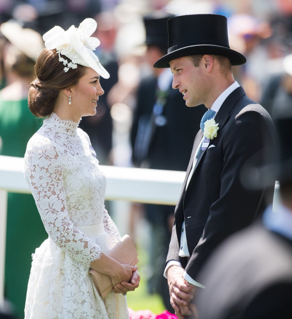 Kate and Will got all dolled up for the royal ascot.
