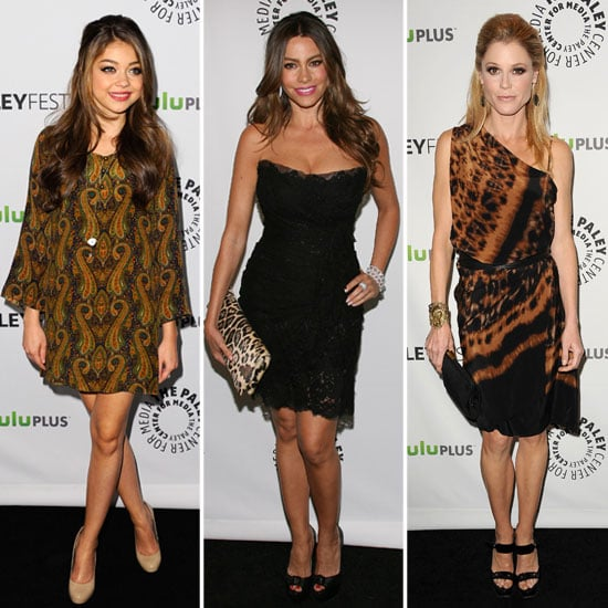 Sarah Hyland, Sofia Vergara, and Julie Bowen at PaleyFest.