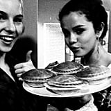 Selena Gomez shared snacks with a pal. Source: Twitter user selenagomez