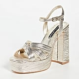 Alice + Olivia Veren Platform Sandals ($578.56)