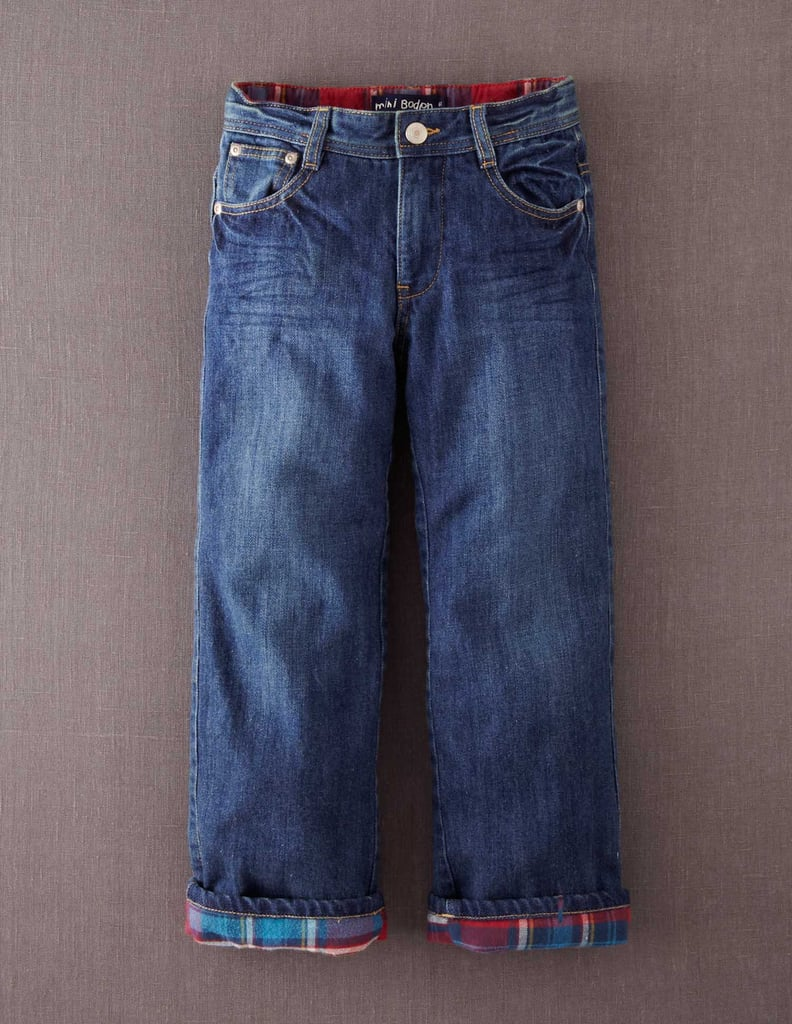 Mini Boden Lined Jeans