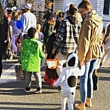 Sutton Foster's Daughter Emily Dressed as Snoopy