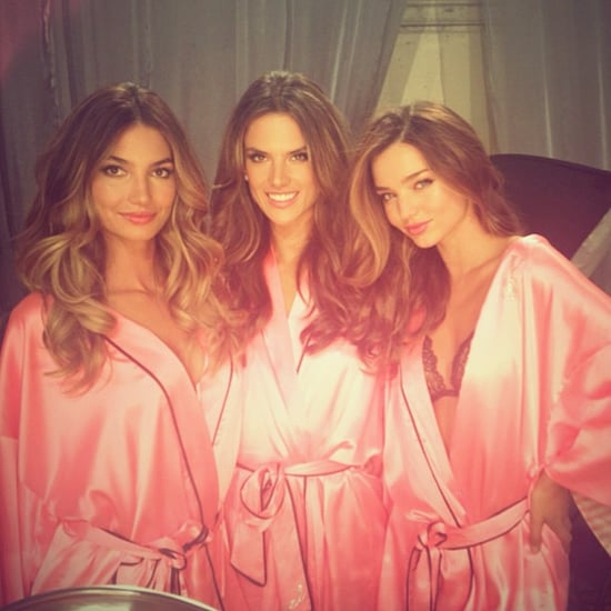Victoria's Secret Fashion Show 2012 Instagram Pictures