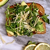 Arugula, Parmesan, and Lemon Juice