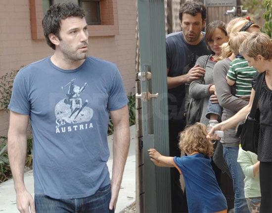 Photos of Violet Affleck With Jennifer Garner and Ben Affleck