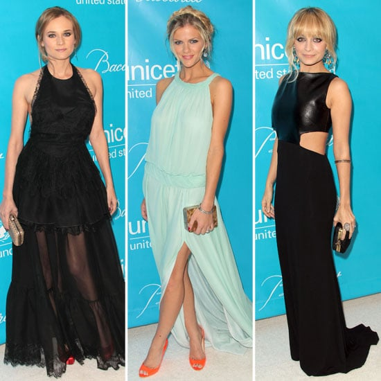 Nicole Richie and Diane Kruger Pictures at UNICEF Ball