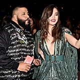 Hailee Steinfeld made sure to get a photo with the king of Snapchat, DJ Khaled, in 2016.