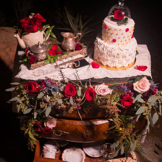 Beauty and the Beast Wedding Cakes