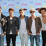 One Direction at the Teen Choice Awards in 2013