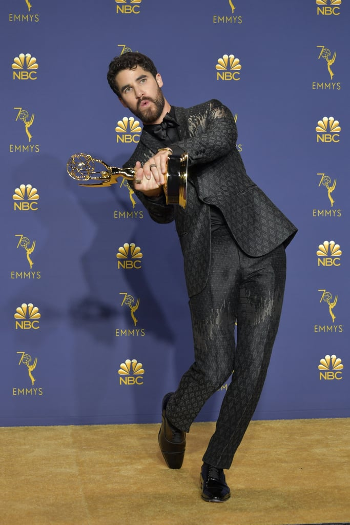 Darren Criss at the 2018 Emmy Awards