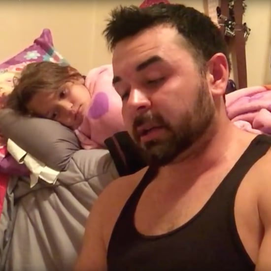 Dad WIth Stutter Reads to His Daughter Every Night