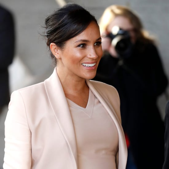 Meghan Markle Visits the National Theatre January 2019