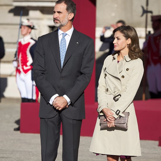 Queen Letizia Criss Cross Heels