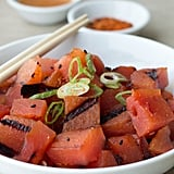 Grilled Watermelon Salad With Sesame Dressing