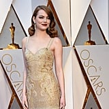 Emma Stone's Givenchy Dress at  Oscars 2017