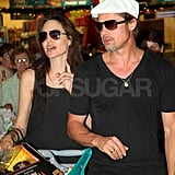 Angelina Jolie and Brad Pitt Pop Up in Namibia Doing Christmas Eve Toy Shopping!