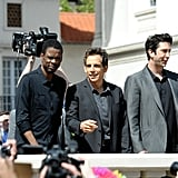 Chris Rock, Ben Stiller, and David Schwimmer got together for the Madagascar 3 photocall at the Cannes Film Festival.