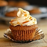 Caramel Pumpkin Cupcakes With Cinnamon Cream Cheese Frosting