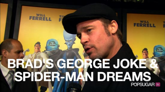 Video of Brad Pitt at the Megamind Premiere in New York 2010-11-04 10:01:02