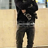 Orlando Bloom shows love for his baby son Flynn.