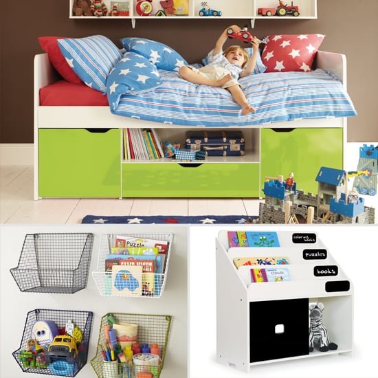 Storage solutions for small kids 39 rooms popsugar moms for Storage for kids rooms