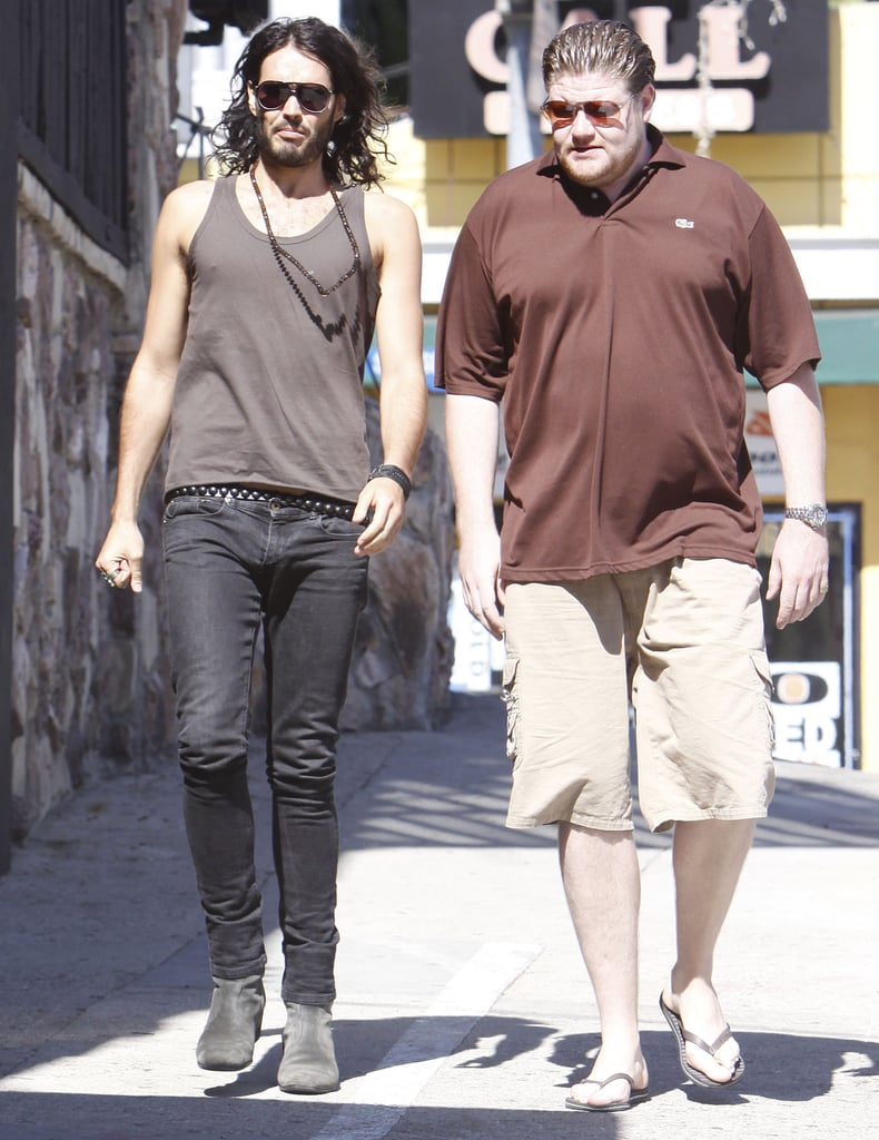 Photos of Russell Brand Out in LA
