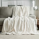 Graced Soft Luxuries Faux-Fur Throw Blanket