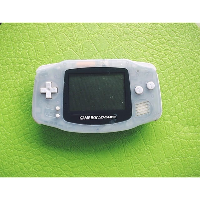 This Instagram user dedicated her #ManCrushMonday to her Game Boy Advance. Source: Instagram user dontcallmekathyy