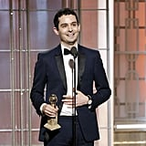 He Is the Youngest Person to Win a Golden Globe For Best Director