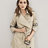 Banana Republic x Olivia Palermo Asymmetrical Trench Coat ($228)