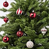 Vinterfest Red Bauble Christmas Tree Decorations