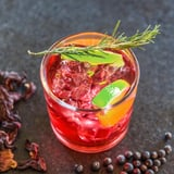 Cranberry Kombucha Mocktail Recipe