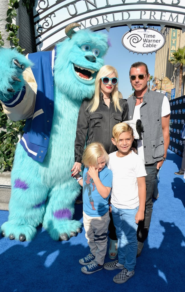 "Yesterday's LA premiere for Monsters University was full of more famous tots than a Hollywood playground. Gwen Stefani and Gavin Rossdale walked the blue carpet with their sons, Kingston and Zuma, while Alessandra Ambrosio modeled alongside her adorable daughter, Anja. Melissa Joan Hart also dropped by the bash with her son, Tucker, whom she carried into the premiere. The kid-friendly bash also drew stars from the film like Billy Crystal, Sean Hayes, and Charlie Day, who told us earlier this week that he is happy to be doing a project that ""won't embarrass his parents."" Check out our interview with Charlie Day, and be sure to watch our review of Monsters University to see if it's worth checking out this weekend."