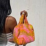 Asata Maisé Vintage Psychedelic Boston Bag