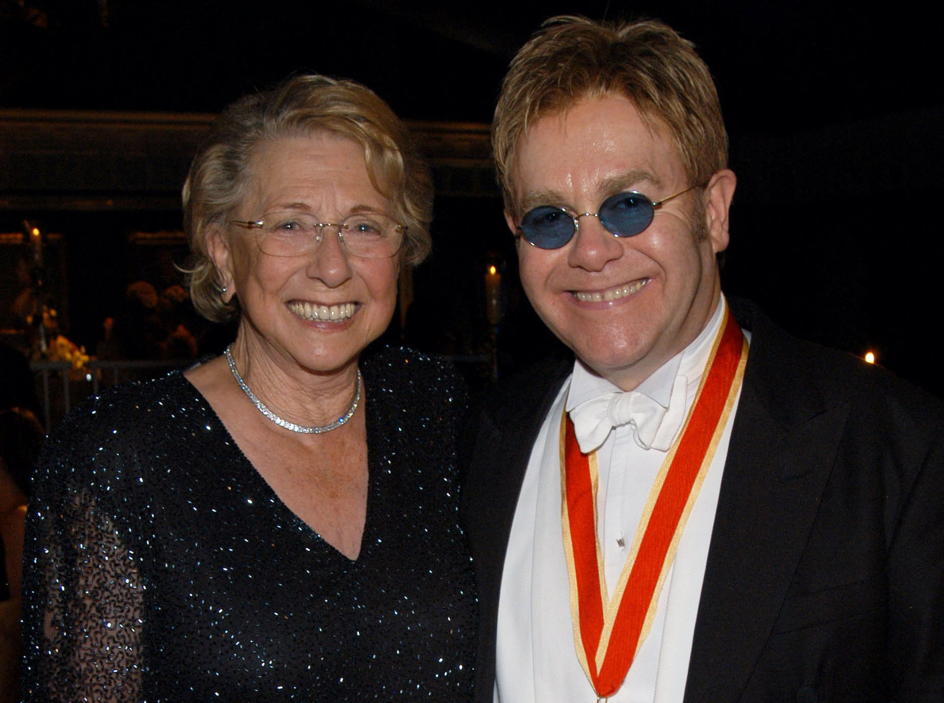 Elton John Reveals on Instagram His Mother Died