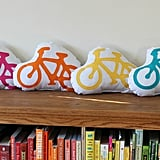 A colorful bike pillow ($16) offers a nod to your child's new favorite hobby.