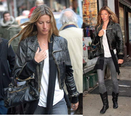 Gisele Rocks NY And Watches Tom Reach 16-0