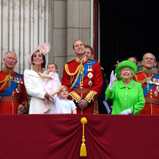 The Royal Family at Trooping the Colour Through the Years