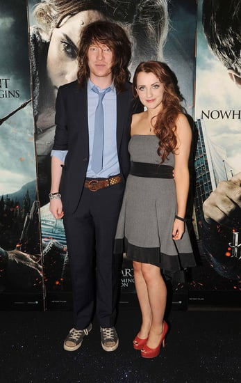 Pictures of Evanna Lynch and Domhnall Gleeson at Harry Potter and the Deathly Hallows Irish Premiere in Dublin