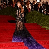 Beyoncé Knowles wore Givenchy to the Met Gala.