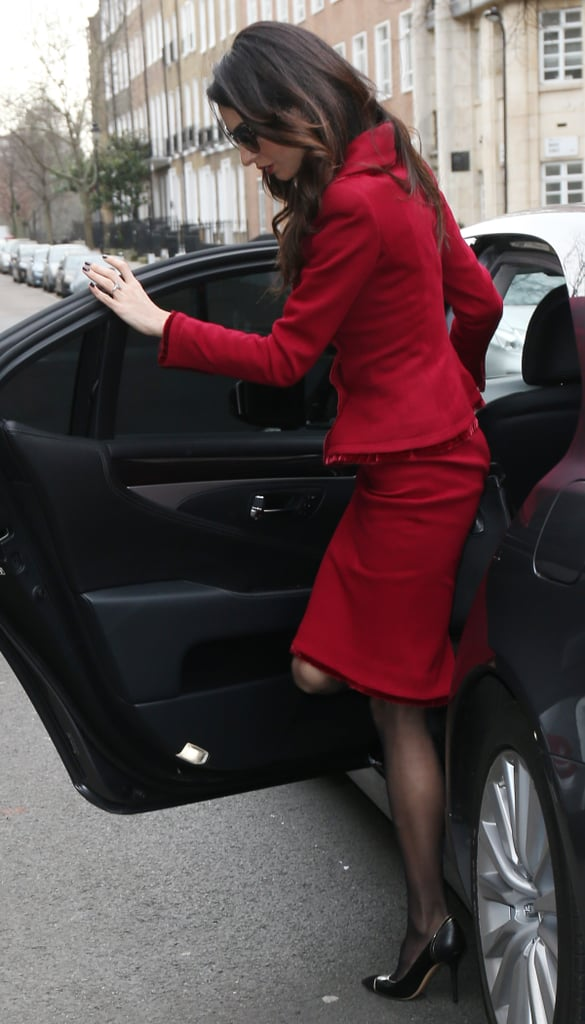 What, You Expected Amal Clooney to Wear a Boring Old Red Suit?