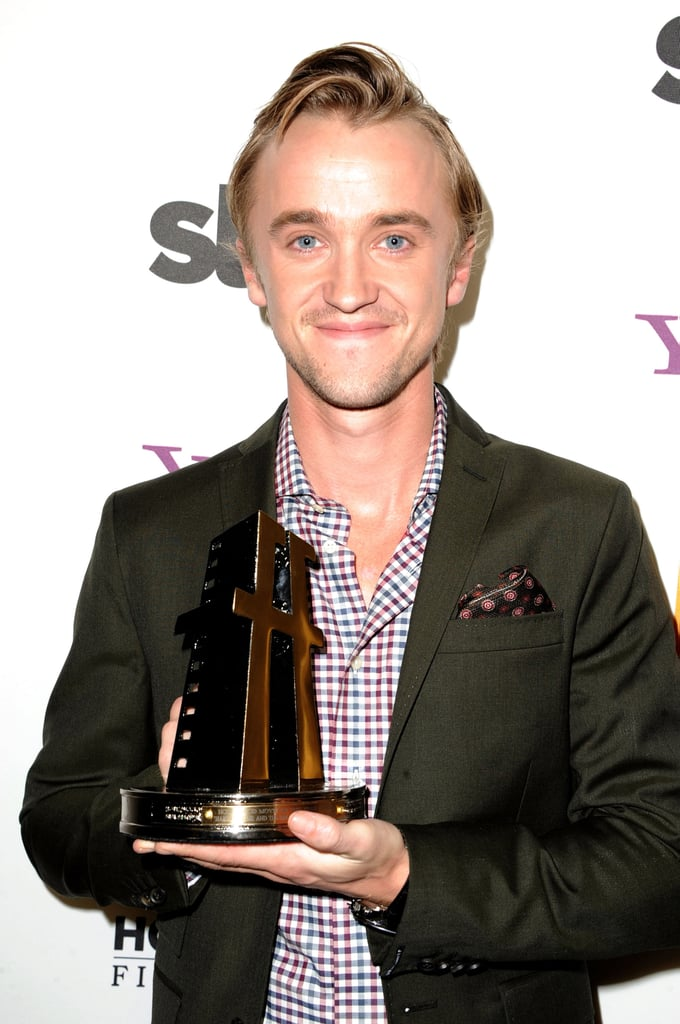 Tom Felton was honored at the 2011 Hollywood Film Awards.
