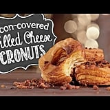 Bacon-Covered Grilled Cheese Cronuts