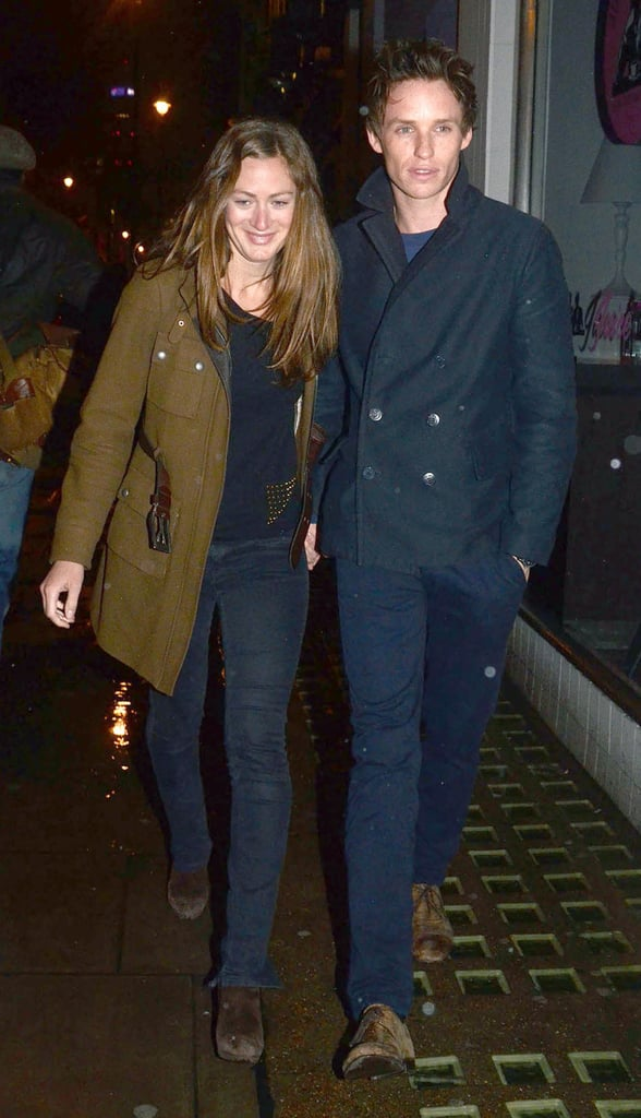 Eddie Redmayne and his girlfriend, Hannah Bagshawe, stepped out in London last night to attend the Teenage Cancer Trust Party at the Gaucho Club. The couple held hands and laughed as they strolled the city streets on their latest date night. Last month, Eddie and Hannah saw Peter and Alice on its opening night in London, followed by the show's afterparty.  Eddie started off this month on a good note, reuniting with Carey Mulligan last week when the two attended a reception for the British film industry with Queen Elizabeth II. In addition to his royal encounter, Eddie graced the cover of April's W magazine and spoke to the publication about landing the role as Angelina Jolie's son in 2006's The Good Shepherd.