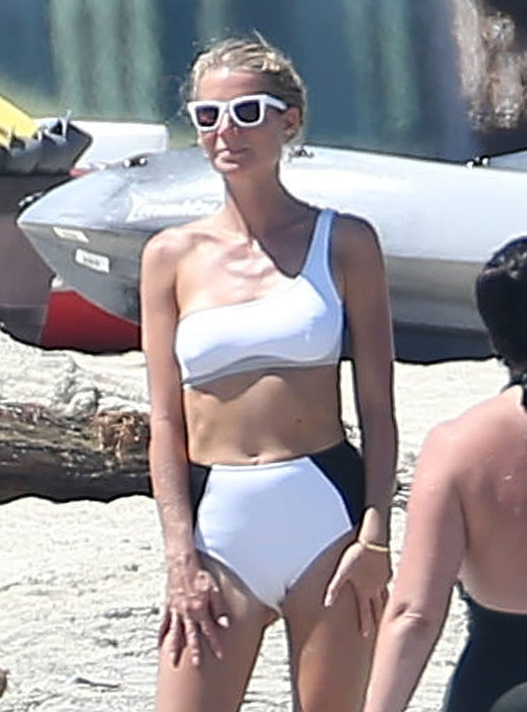 """Gwyneth Paltrow relaxed in Cabo San Lucas with a group of girlfriends this week in celebration of her 44th birthday. On Tuesday, the actress was spotted lounging on the beach in a black and white bikini and took time to chat and high five one of her pals. She shared an Instagram photo of herself snoozing near the ocean on a different day, writing, """"#tbt Monday when@jcvn40 caught me in an epic nap on the beach."""" Even though there have been a handful of times we couldn't relate to Gwyneth, this is definitely not one of them; who doesn't love kicking back and passing out on the beach?       Related:                                                                                                           Gwyneth Paltrow's Most Precious Pictures With Her Kids"""