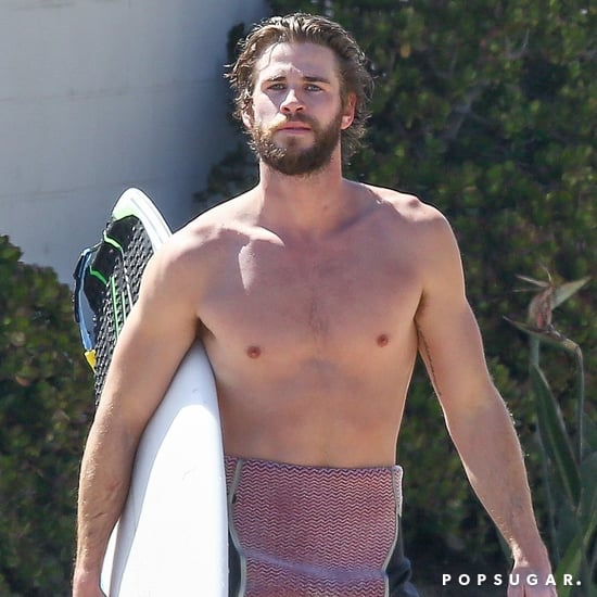 Shirtless Liam Hemsworth Pictures