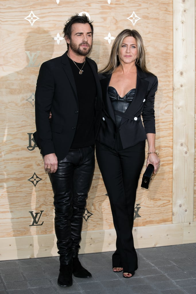 They Also Wore Matching Leather Outfits at the Louis Vuitton x Jeff Koons Celebration