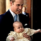 With George and Charlotte's Godparents