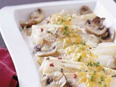 Fast & Easy Dinner: Cheesy Mushroom Fish Bake