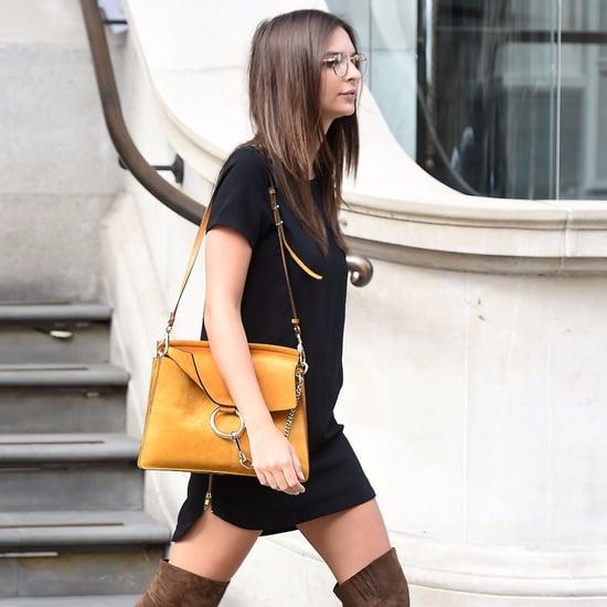 Emily Ratajkowski Wearing Over-the-Knee Boots
